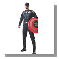 Rubie's Costume Men's Marvel Universe Captain America Winter Soldier Stealth, Black, X-Large Costume