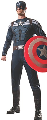 Rubie's Costume Men's Marvel Universe Captain America Winter Soldier Stealth Costume