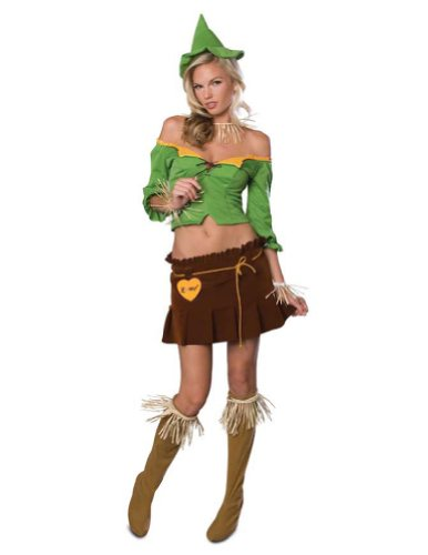Scarecrow Adult Sm Halloween Costume - Adult Small