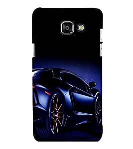 printtech Superfast car Back Case Cover for Samsung Galaxy A5 (2016) :: Samsung Galaxy A5 (2016) Duos with dual-SIM card slots
