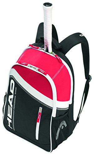 HEAD Core Backpack Tennis Bag, Black/Red (Tennis Racquet Bag Head compare prices)