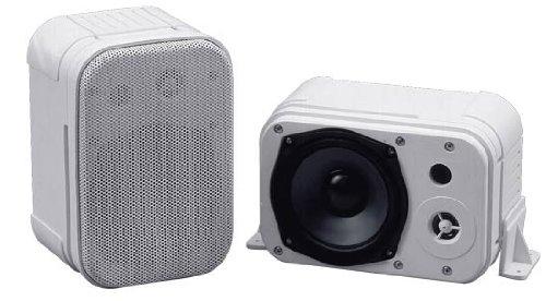 Pyramid 4071Wp 400 Watts 5-Inch 2Way Indoor/Outdoor Waterproof Speaker System