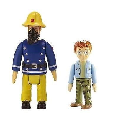 Feuerwehrmann Sam Figuren 2er Packung - Sam mit Maske und Norman [UK Import]