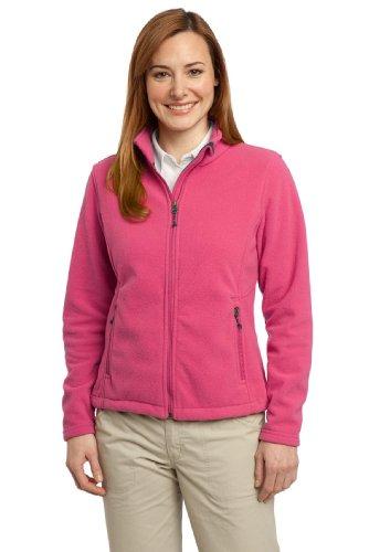 [Port Authority Women's Value Fleece Jacket 3XL Pink Blossom] (Daria Costume)