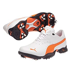 Puma Golf Shoes Ace White/Orange