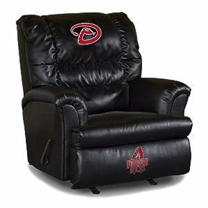 MLB Arizona Diamondbacks Big Daddy Leather Recliner by Imperial