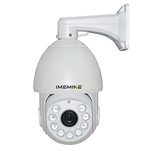 "Imemine 6"" Ptz Analog Middle Speed Day Night Ir Dome Camera 27X Optical Zoom Cctv Surveillance 480Tvl"