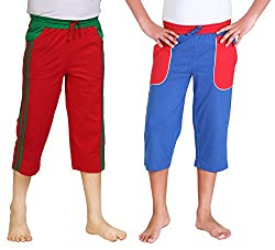 Dongli Boys Marvellous Capri (Pack of 2)