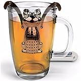 Stainless Steel Frog Loose Leaf Infuser Tea Filter Herbal Spice Strainer