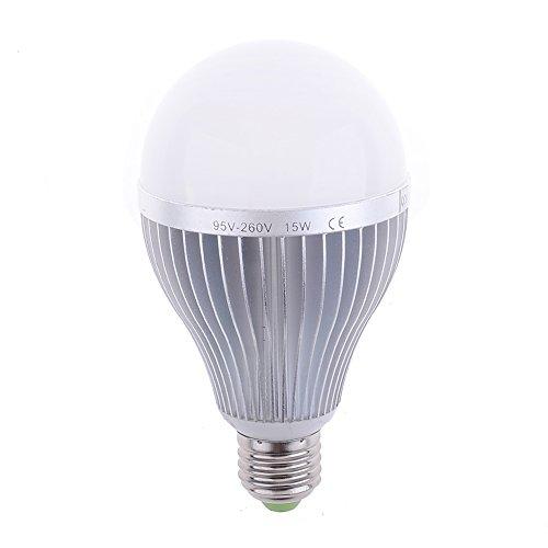 Neewer® 5600K 15W 1175LM E27 Standard Base White LED Photo Studio Bulb Lamps Lights Energy Saving