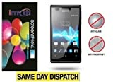 Imyth *PACK OF 3* Sony Xperia E Anti-Glare (Matte) Screen Protectors Retail Packed & Cloth + App. Card