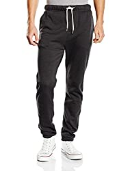 DC Mens Relaxed Fit Sweatpants (3613370649006_EDYFB03012_32W x 31L_Pirate Black)
