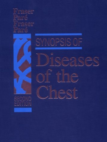 Diagnosis Of Diseases Of The Chest, 4-Volume Set: Synopsis Of Diseases Of The Chest, 2E