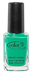 Color Club Poptastic Neons Nail Polish, Green, Edie, .05 Ounce