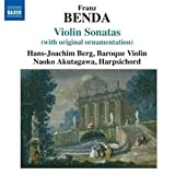 Hans-Joachim Berg Benda: Violin Sonatas With Original Ornamentation