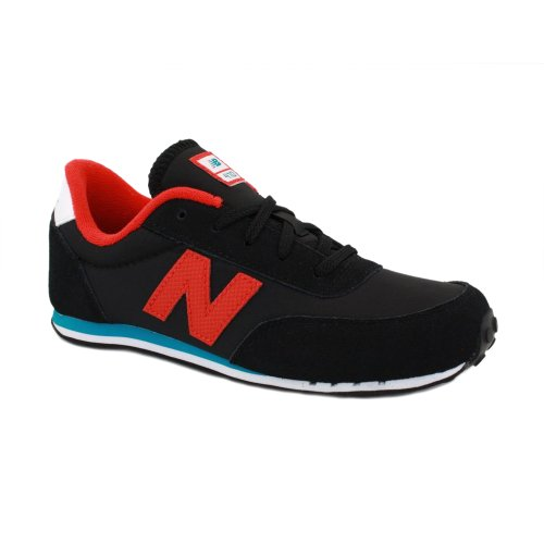 New Balance 410 Kids Leced Nylon & Suede Running Trainers