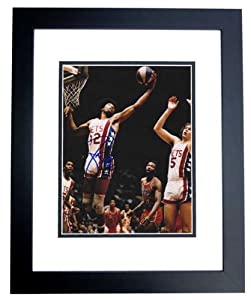 Julius Dr. J Erving Autographed Hand Signed New Jersey - Nets 8x10 Photo - BLACK... by Real+Deal+Memorabilia