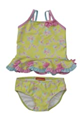 Kate Mack Baby-Girl's Infant Water Sprite Swimsuit in Lime