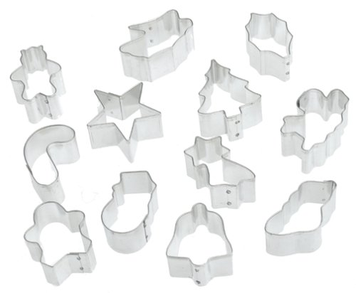 Mrs. Anderson's Baking 12-piece Holiday Cookie Cutter Set