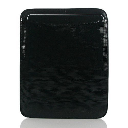Chocolate / Wave Textures PU Leather Case / Cover / Sleeves for iPad 3 / iPad 2 / The New iPad (7332-7)