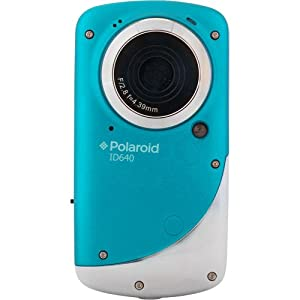 Polaroid ID640-BLUE-SOL Underwater Digital Video Camera (Blue)