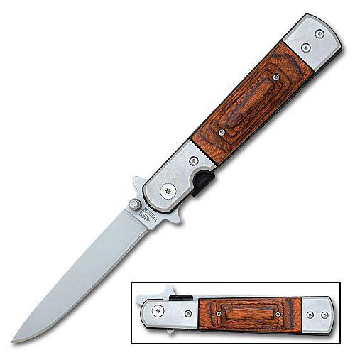 Ridge Runner Spike'S Peak Action Folding Knife