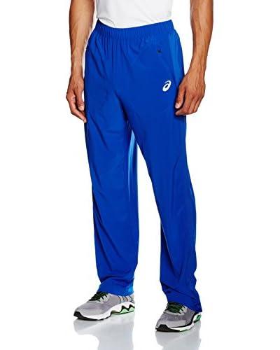 Asics Pantalón Club Woven Azul