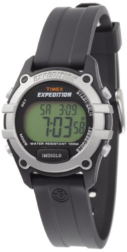 Timex Unisex T49755 Expedition CAT Digital Watch Black Resin Strap Watch