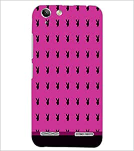 PrintDhaba Play Boy pattern D-1763 Back Case Cover for LENOVO A6020a46 (Multi-Coloured)