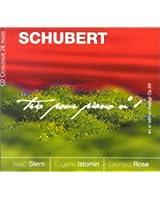 Schubert : Trio pour violon, violoncelle et piano n° 1 en si bémol majeur Op. 99