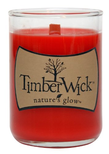 TimberWick Candied Apple Soy Mini Candle