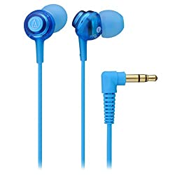 Audio Technica ATH-CKL202 In- Ear Headphone (Light Blue)