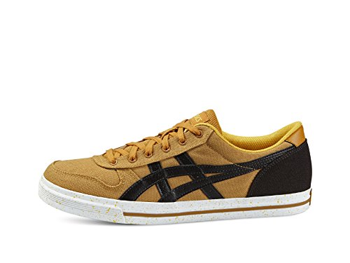 Onitsuka Tiger Aaron Canvas Sneaker H6G4N -7162, Beige (Tan / Dark Brown), 38 EU