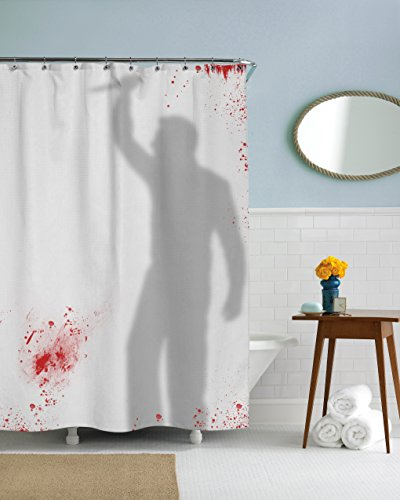 Psycho Killer Bloody Shower Curtain
