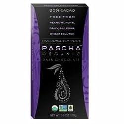 Organic Dark Chocolate 85% Cacao (Case of 10) 3.50 Ounces