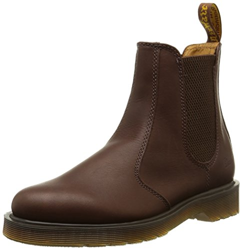 Dr. Martens 2976 Greasy Last 84 Plain, Stivaletti, Donna, Marrone (Brown), 40