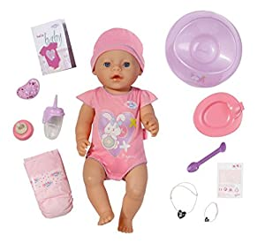 Amazon.com: Baby born Interactive Doll: Toys & Games