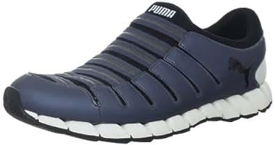 PUMA Men's Osu 3 Running Shoe,Grisaille/Black,8 D US