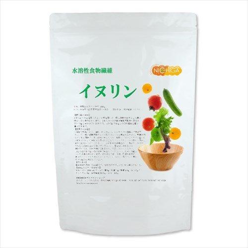 イヌリン 500g 水溶性食物繊維 国産新製法高品質 【付属スプーン付】 いぬりん 500g
