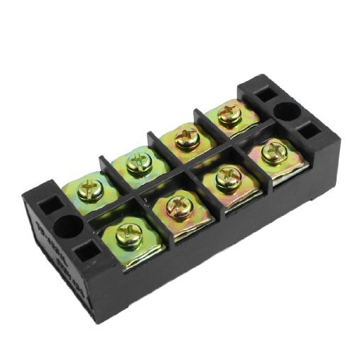 Water & Wood 600V 45A Double Row 4 Position Terminal Barrier Blocks Connector Tb-4504L front-626842