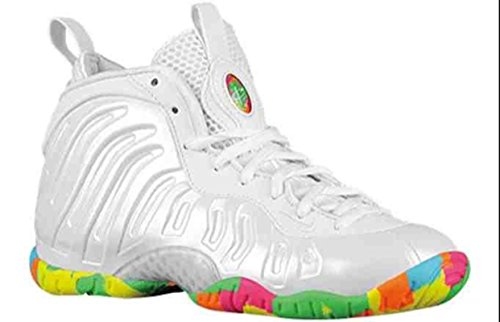 97c553db2 Nike little Posite One (GS) FRUITY PEBBLES 644791 100 Size 7Y US ...