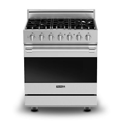 Viking RDSCG2305BSS 30-Inch Gas Self-Cleaning Range, Stainless Steel