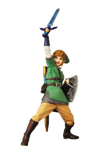 The Legend of Zelda Skyward Sword Link Real Action Heroes (RAH) 12' Figure