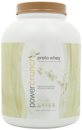 Bio Nutritional Power Crunch Proto Whey Vanilla Creme 5.2 lbs by Bionutritional Research Group