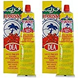 Dea Harissa Hot Sauce From France 2 Pack Combo 2X4.2 oz