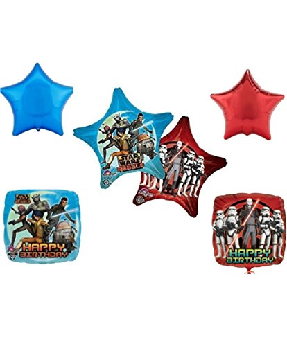 Star Wars Rebels Happy Birthday Party Balloon Decoration Kit - 1