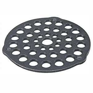 Lodge L8DOT3 Pre-Seasoned Cast-Iron Meat Rack/Trivet, 8-inch