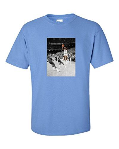 Michael jordan unc north carolina the shot t shirt for We are jordan unc shirt