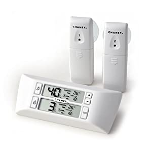 ACU_RITE Refrigerator Freezer Wireless Digital Thermometer 00986 by ACU_RITE