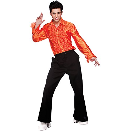 l-mens-orange-disco-ruffle-shirts-costume-for-70s-fancy-dress-disfraz